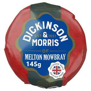 Dickinson & Morris Melton Mowbray Pork Pie 140g
