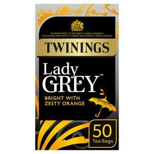 Twinings Lady Grey Tea, 50 Tea Bags