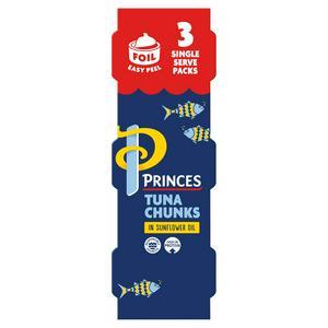 Princes Tuna Chunks in Sunflower Oil 3x80g (3x56g)