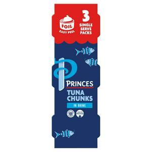 Princes Tuna Chunks in Brine 3x80g (3x56g*)