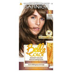 Garnier Belle Color Natural Permanent Hair Dye Brown 5