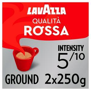 Lavazza Qualita Rossa Ground Coffee 2x250g