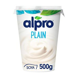 Alpro Plain Yoghurt Alternative 500g