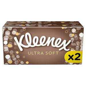Kleenex Ultra Soft Tissues 2 Pack