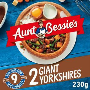 Aunt Bessie's Giant Yorkshires x2 230g