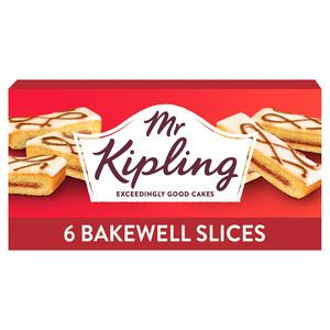Mr Kipling Bakewell Cake Slices x6