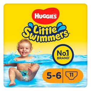 Huggies Little Swimmers Size 5-6  11 Swim Nappies