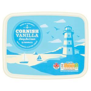 Sainsbury's Cornish Dairy Ice Cream 2L