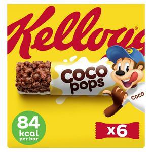 Kellogg's Coco Pops Bars 6x20g