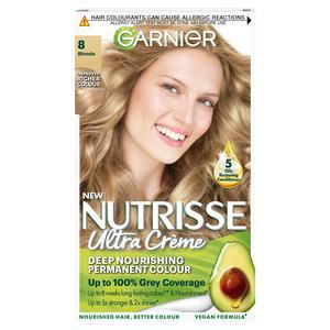 Garnier Nutrisse Permanent Hair Dye Blonde 8