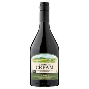 Sainsbury's Country Cream 70cl