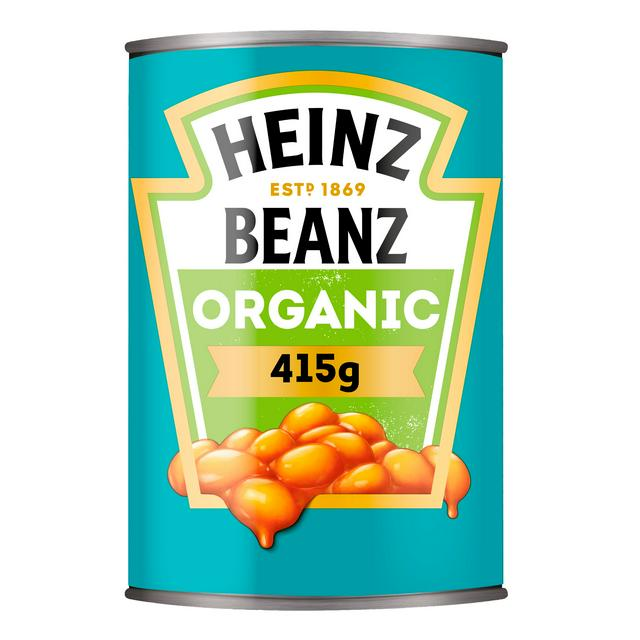 Heinz Baked Beans Organic 415g Sainsbury S