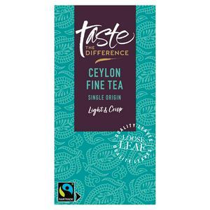 Sainsbury's Ceylon Loose Tea, Taste the Difference 125g