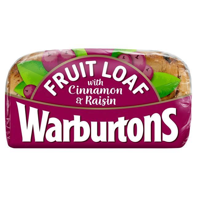 Warburtons Fruit Loaf With Cinnamon And Raisin 400g Sainsbury S