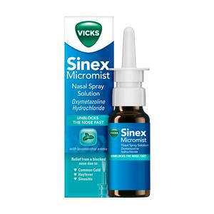 Vicks Sinex Nasal Spray 15ml