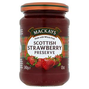Mackays Scottish Strawberry Preserve 340g