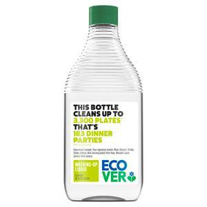 Ecover Washing Up Liquid, Lemon & Aloe Vera 450ml