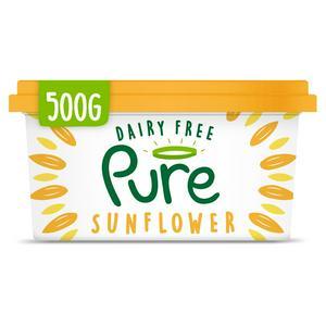 Pure Dairy Free Vegan Sunflower Spread 500g