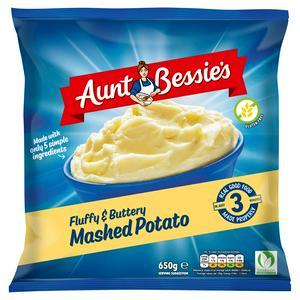 Aunt Bessie's Mashed Potato 650g