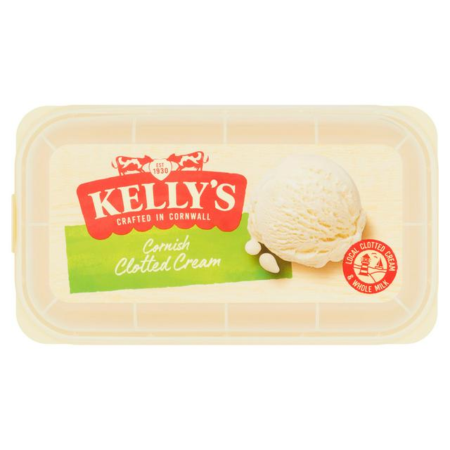 Kelly S Cornish Clotted Ice Cream 950ml Sainsbury S