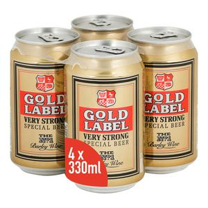 Gold Label Very Strong Special Beer 4x330ml