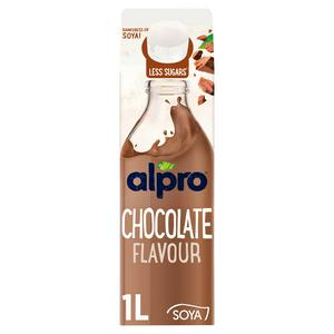 Alpro Soya Chocolate Chilled Drink 1L