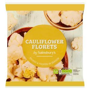 Sainsbury's Cauliflower Florets 1kg