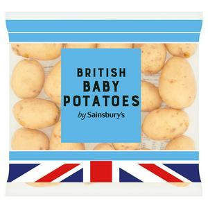 Sainsbury's Baby Potatoes 1kg