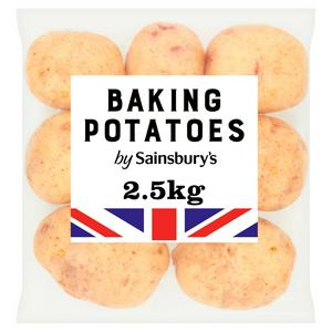 Sainsbury's Baking Potatoes 2.5kg