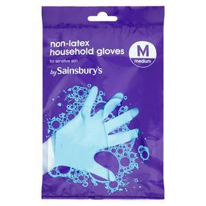 Sainsbury's Non-Latex Household Gloves, Medium