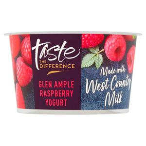 Sainsbury's West Country Glen Ample Raspberry Yogurt, Taste the Difference 150g