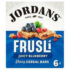 Jordans Frusli Blueberries Cereal Bars 6x30g