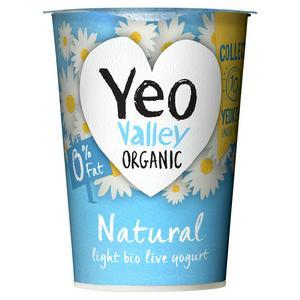 Yeo Valley Organic 0% Fat Natural Yogurt 500g