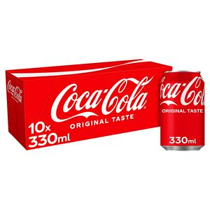 SAINSBURYS > Drinks > Coca-Cola 10x330ml