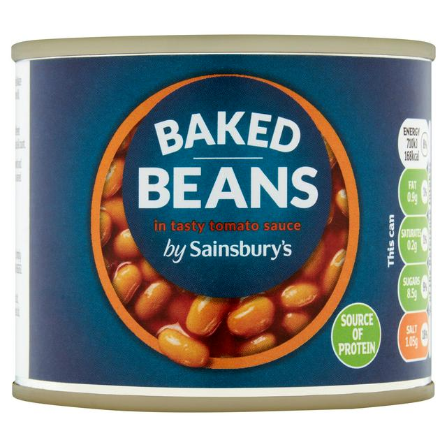 Sainsbury S Baked Beans In Tomato Sauce 200g Sainsbury S