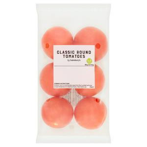 Sainsbury's Classic Round Tomatoes x6