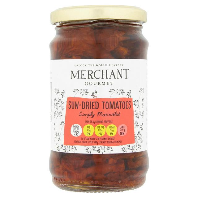 Merchant Gourmet Sun Dried Tomatoes 280g 170g Sainsbury S