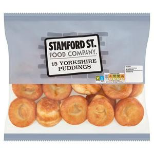 Stamford St. Food Company Yorkshire Puddings x15 220g