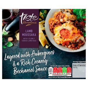 Sainsbury S Lamb Moussaka Taste The Difference 400g Serves 1 Sainsbury S