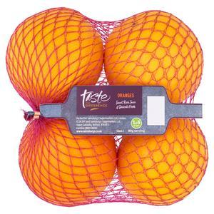 Sainsbury's Oranges, Taste the Difference x4