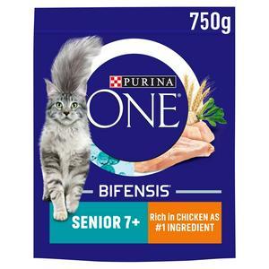 Purina One Senior 7+ Dry Cat Food Chicken 800g