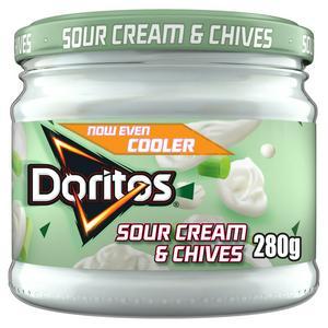 SAINSBURYS > General > Doritos Cool Sour Cream & Chives Sharing Dip 280g