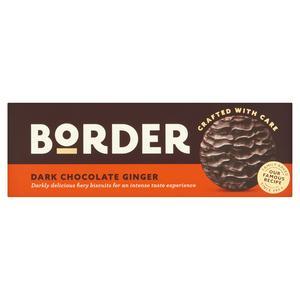 Border Biscuits Dark Chocolate & Ginger 150g