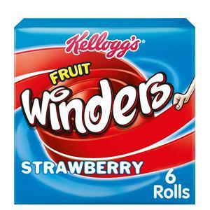 Kellogg's Strawberry Fruit Winders 6x17g