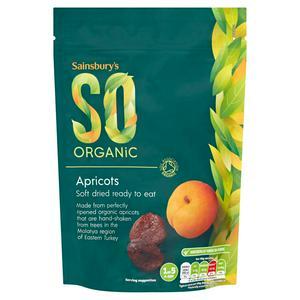 Sainsbury's Soft Apricots, SO Organic 250g