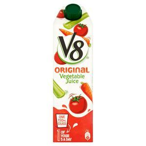 V8 100% Vegetable Juice 1L