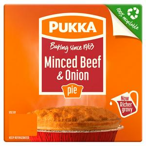 Pukka Minced Beef & Onion Pie 215g