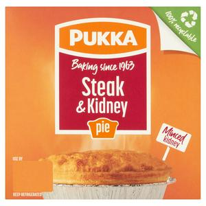 Pukka Pies Steak & Kidney Pie 219g