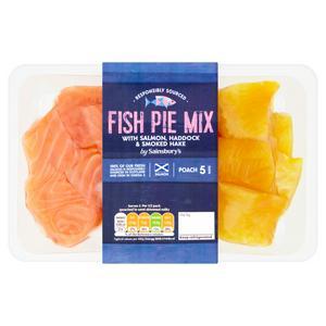 Sainsbury's Fish Pie Mix 300g
