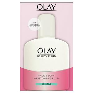 Olay Beauty Fluid Sensitive Moisturiser 200ml